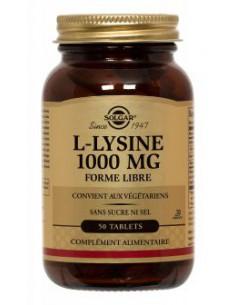 Solgar L Lysine 1000mg - 50...